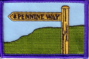 Pennine Way Woven Badge