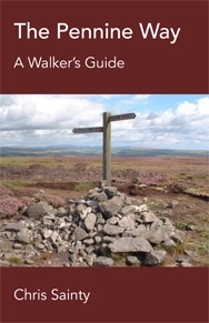 chris sainty pennine way The Pennine Way: A Walkers Guide by Chris Sainty